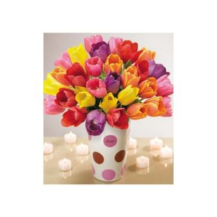 valentines-day-flowers-30-assorted-tulips-with-vase3