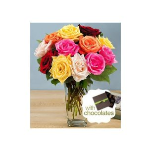 valentines-day-flowers-dozen-assorted-roses-with-vase-and-chocolates